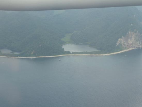 ④13時45分 隠岐島が見える.JPG