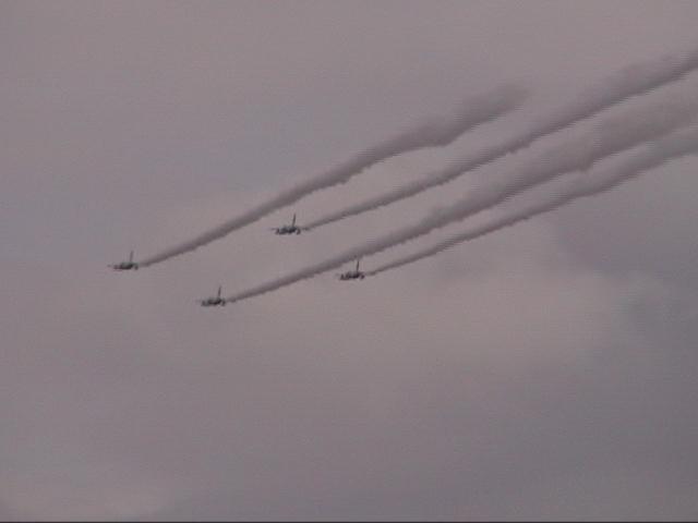 ジェット機雲3